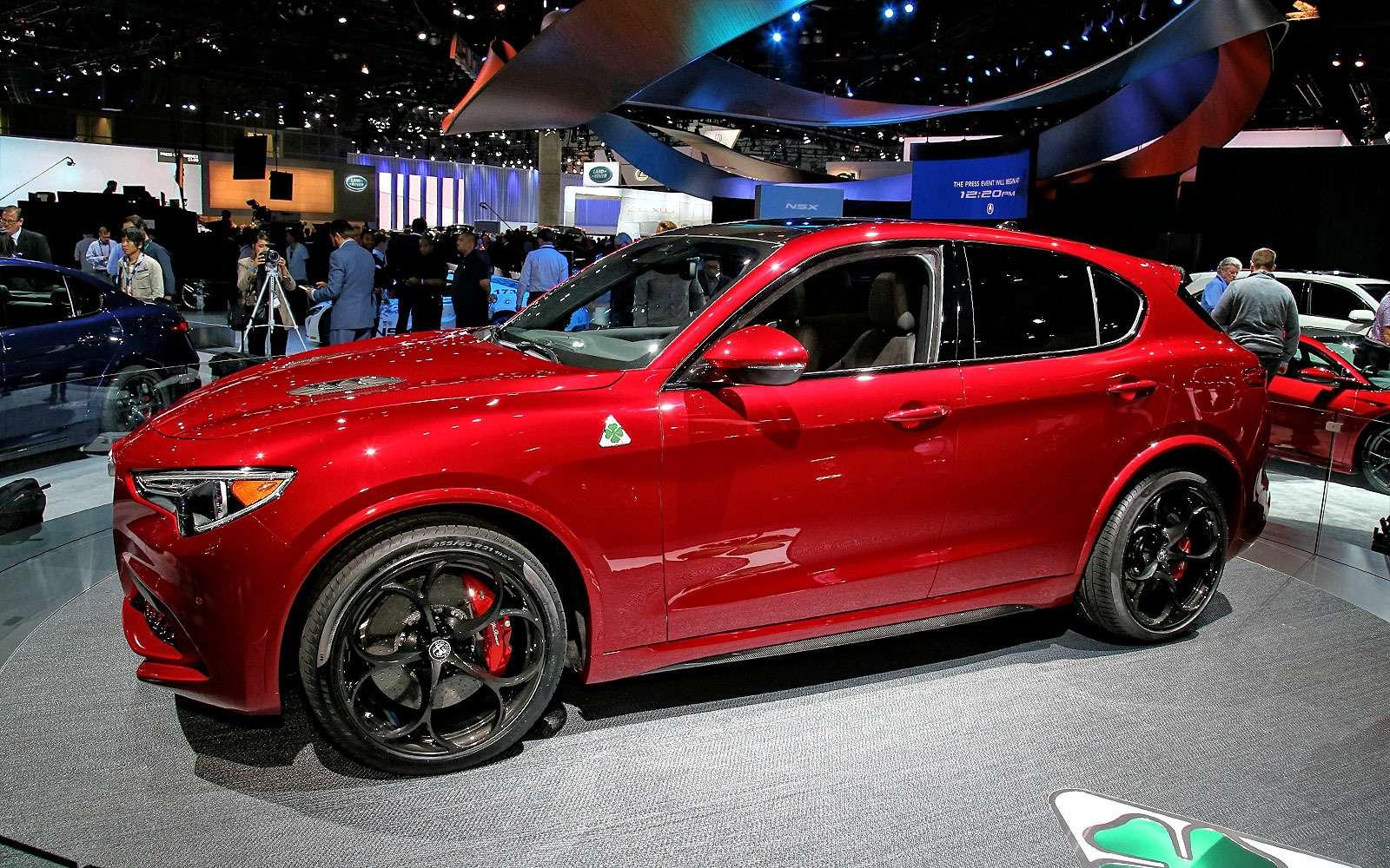 Сила духа: встречайте кроссовер Alfa Romeo Stelvio!— фото 665104