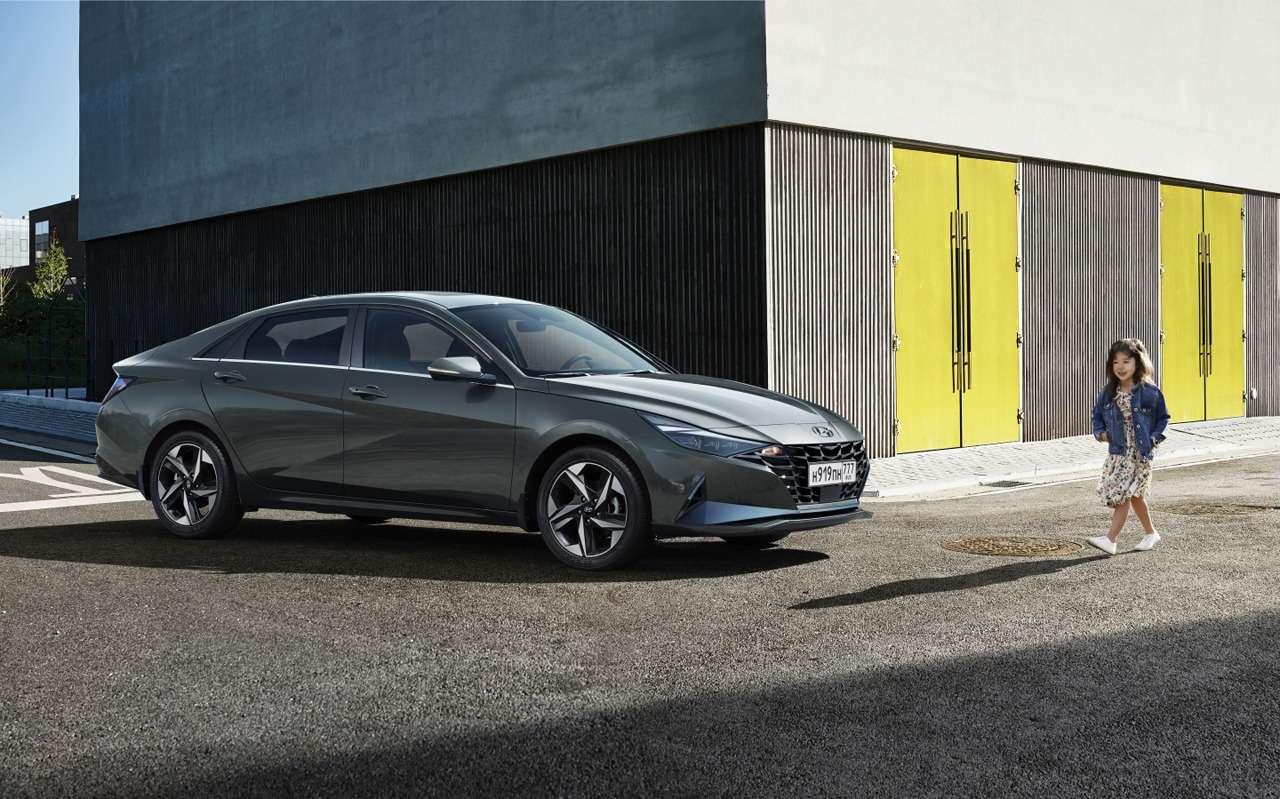 Новая Hyundai Elantra: подробности дляРоссии— фото 1203883