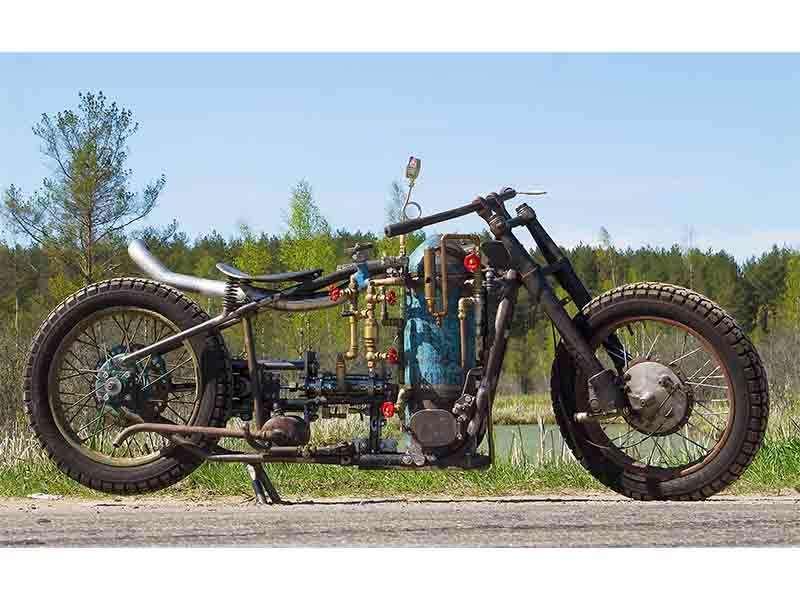 Паровой мотоцикл— фото 1009346