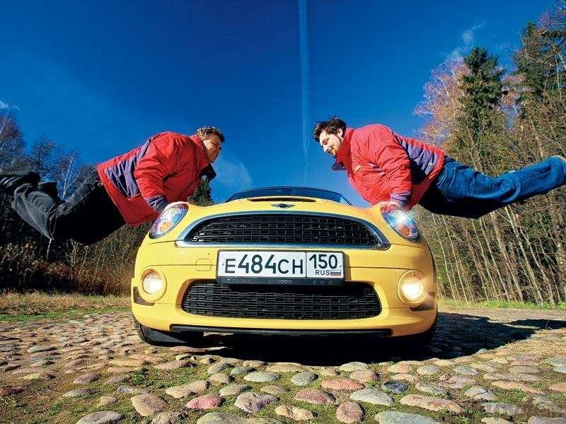 Тест Fiat 500, Mini Cooper S: Детский мир— фото 90563