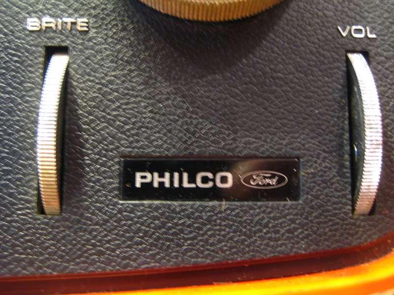 Philco-Ford_Orange_Retro_TV_1970s_no_copyright