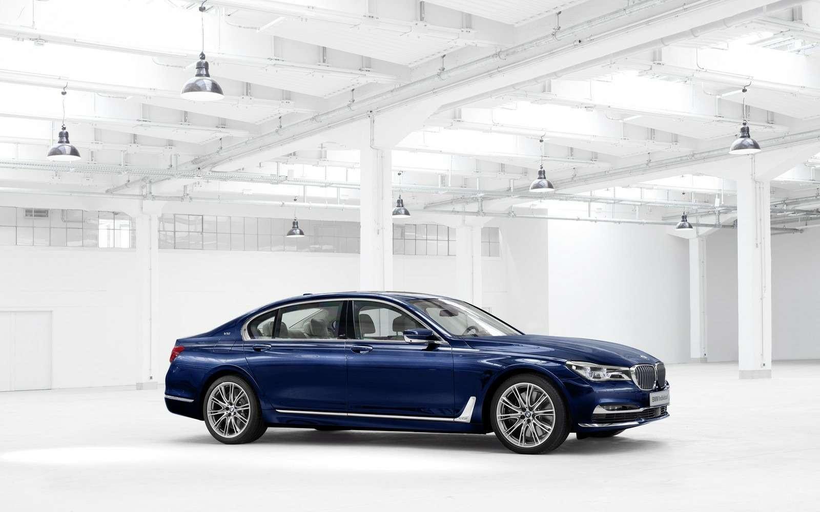 BMWвыпустит юбилейную «семерку»— фото 577987