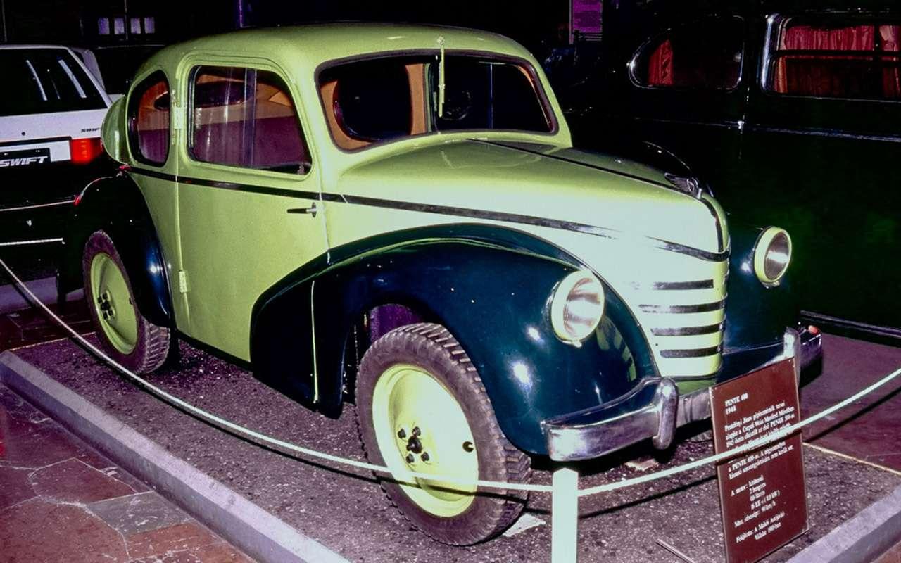 Подарок Сталину, копия Победы иМалыш— какие машины делали всоцстранах— фото 1089352