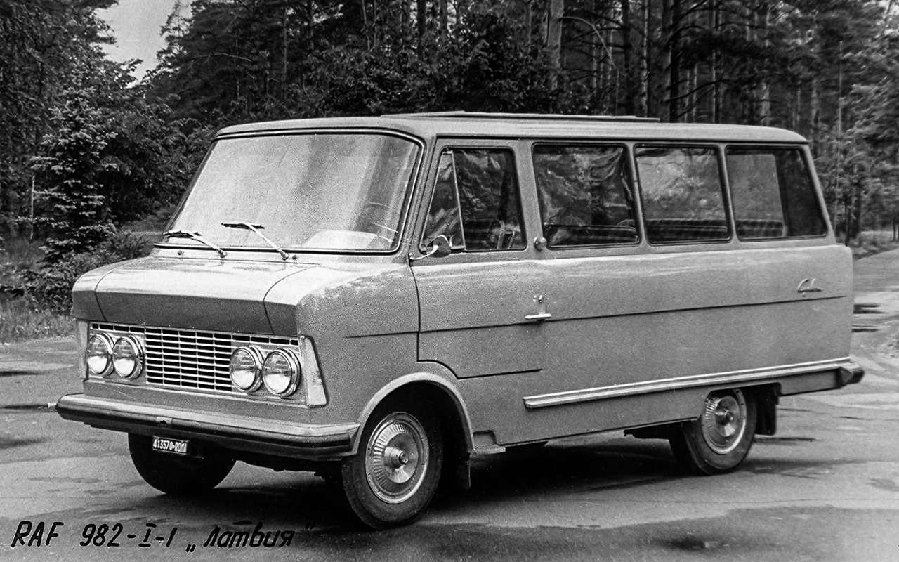Тотсамый «рафик»: полная история главного микроавтобуса СССР— фото 1218801