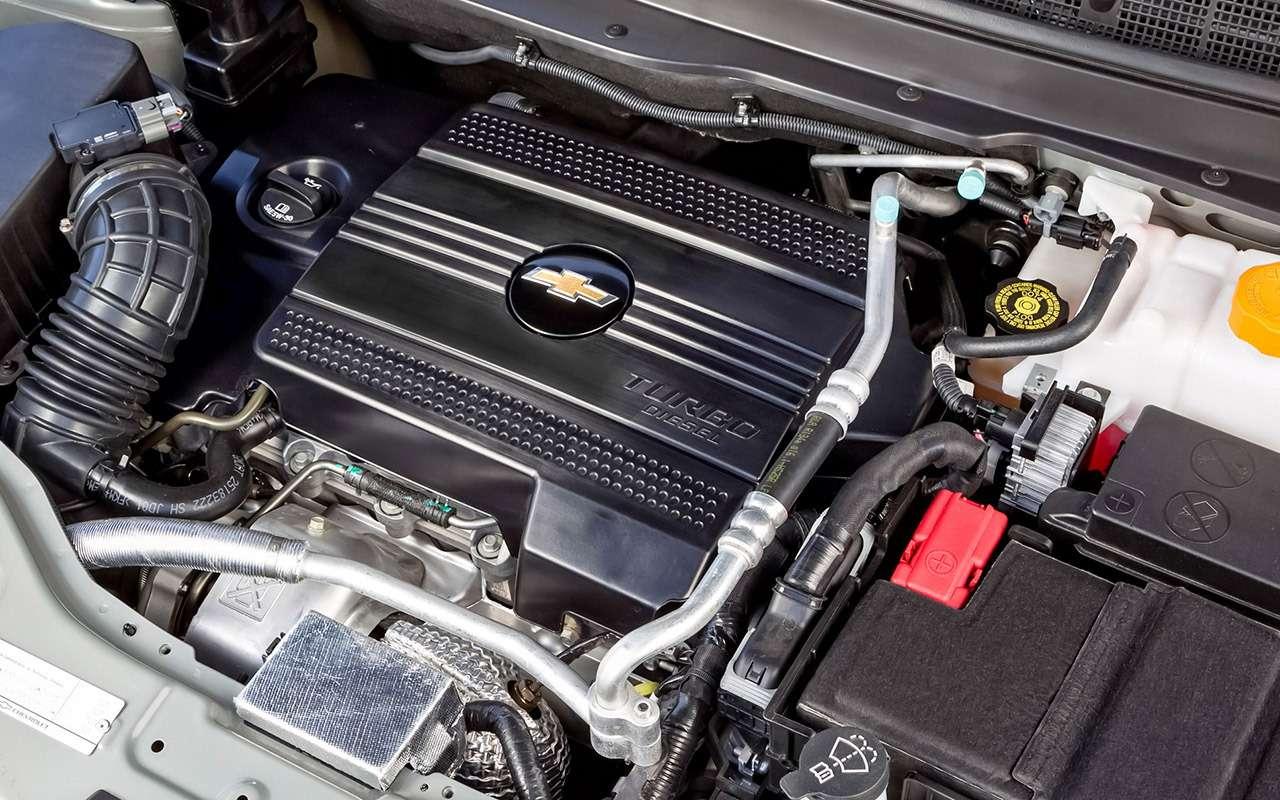 Chevrolet Captiva свторички: список проблем— фото 1167324