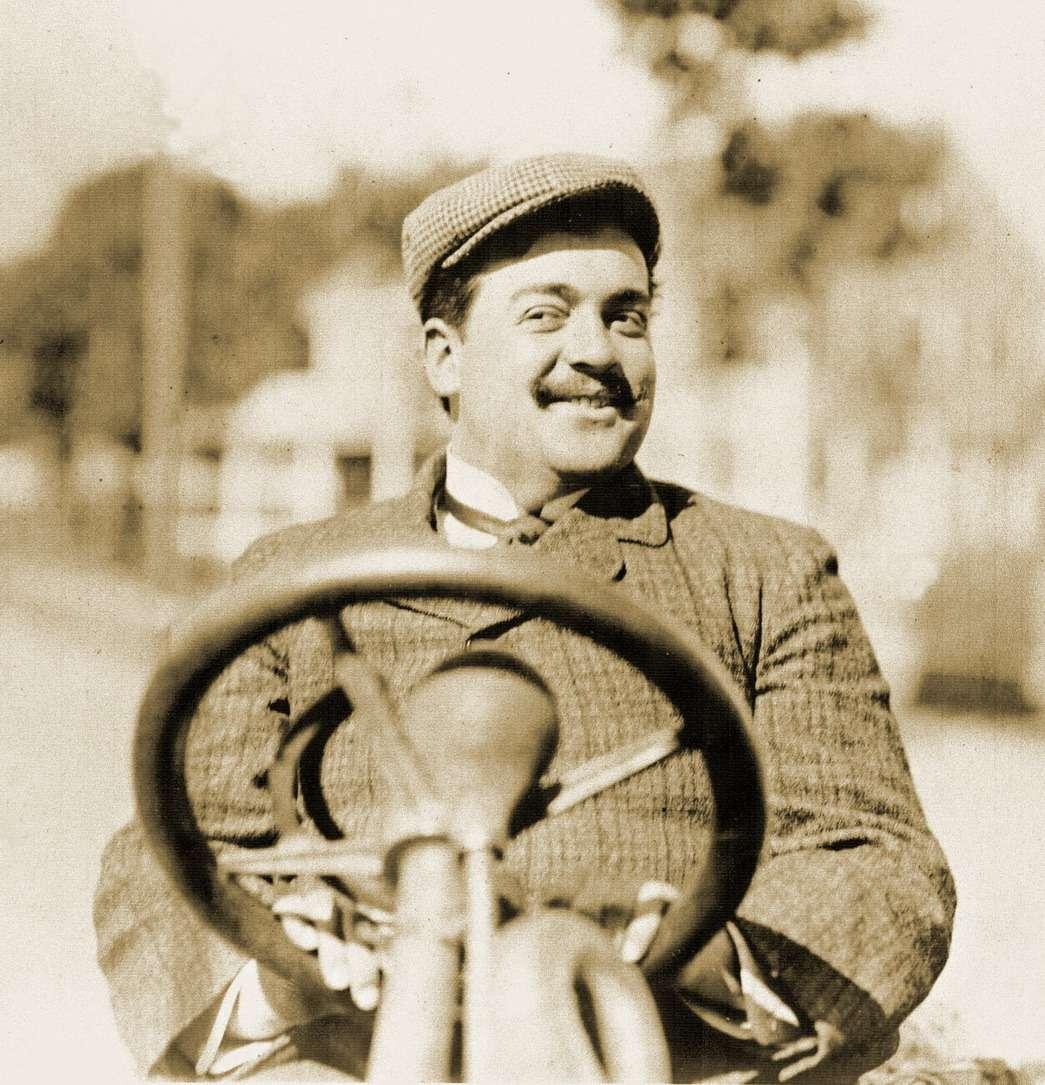 Винченцо Лянча зарулем Fiat 100CV наКубке Вандербильта, 1905 год. Фото: www.vanderbiltcupraces.com
