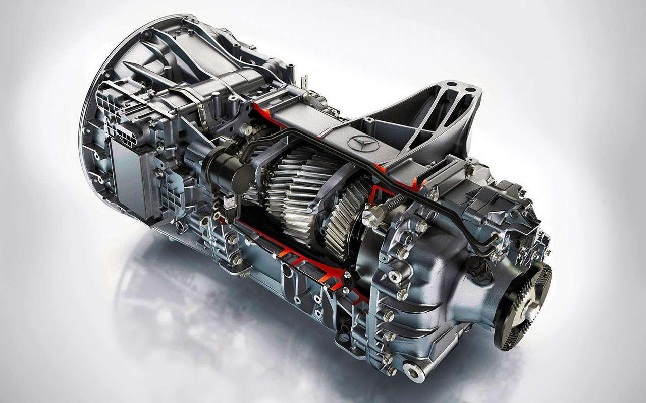 Mercedes-Benz Actros иArocs MP4: комплектация дляРоссии— фото 931092