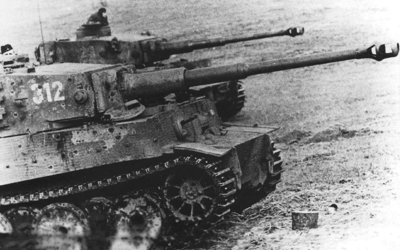 Немецкий «Тигр» против нашего ИС-2— битва технологий— фото 952539