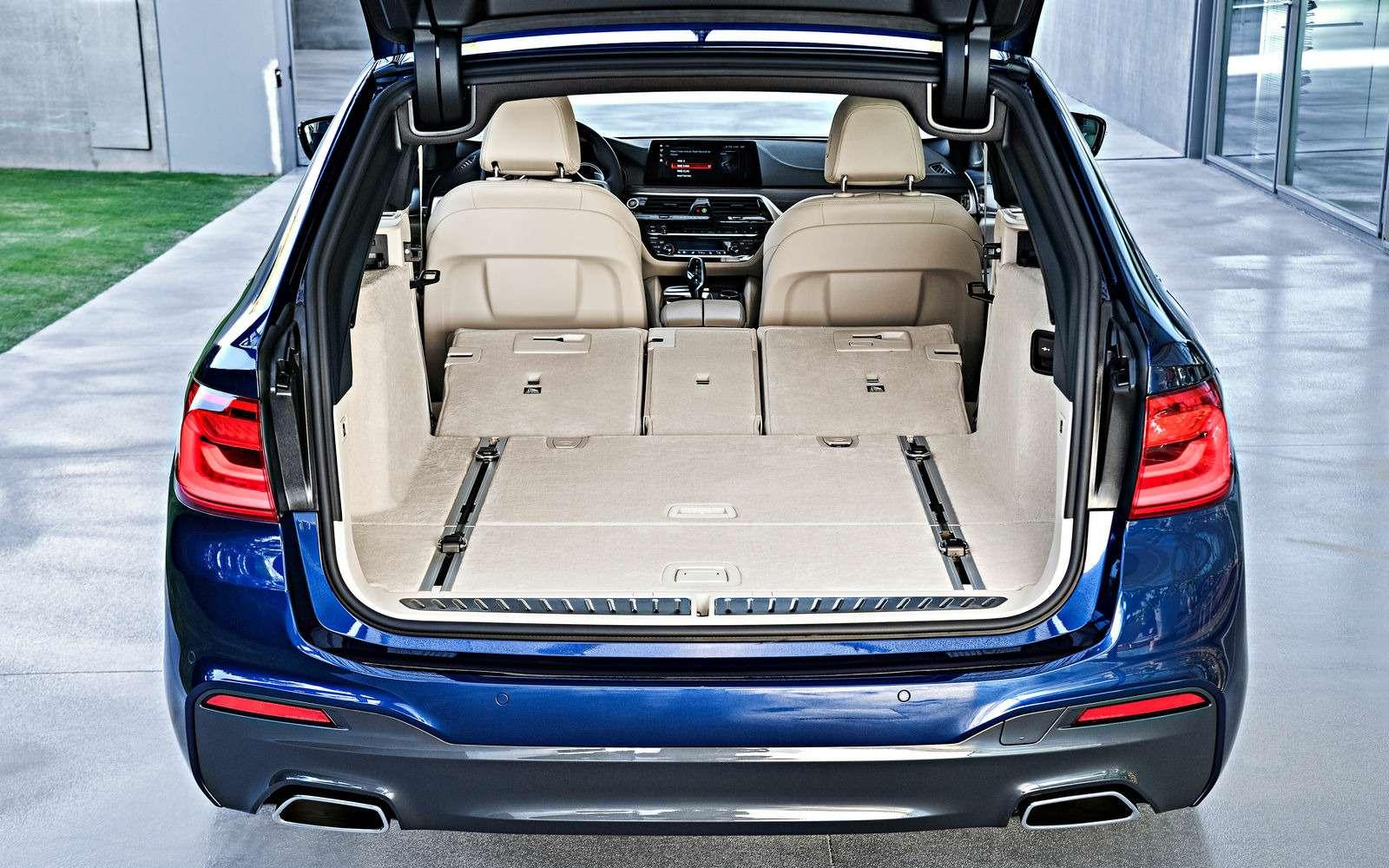 Новая «пятерка» BMW— теперь искузовом универсал— фото 701204