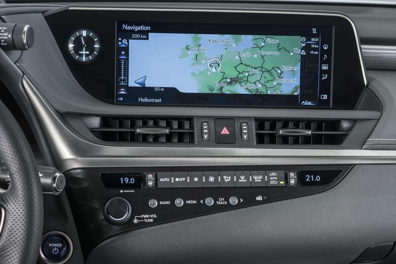 Новый Lexus ES: без полного привода итурбомоторов— фото 865663