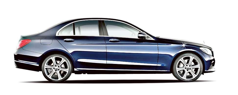 Mercedes-Benz C300 BlueTEC HYBRID, Exclusive Line, Cavansitblau