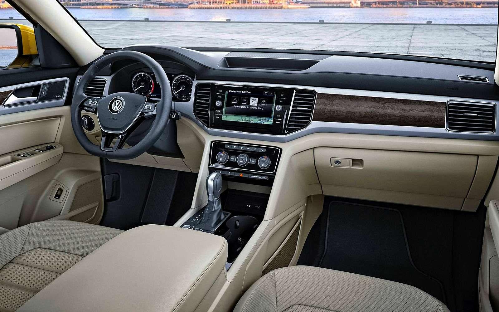 Новый Volkswagen Atlas: ждем «американца» вРоссии!— фото 675931