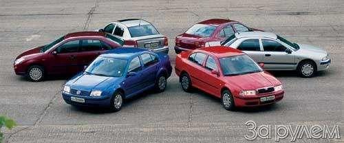 Opel Astra, Volkswagen Bora, Skoda Octavia, Mitsubishi Carisma, Renault Megane, Ford Focus. УЖЕ ПРЕСТИЖНО, ЕЩЕ ДОСТУПНО— фото 24626