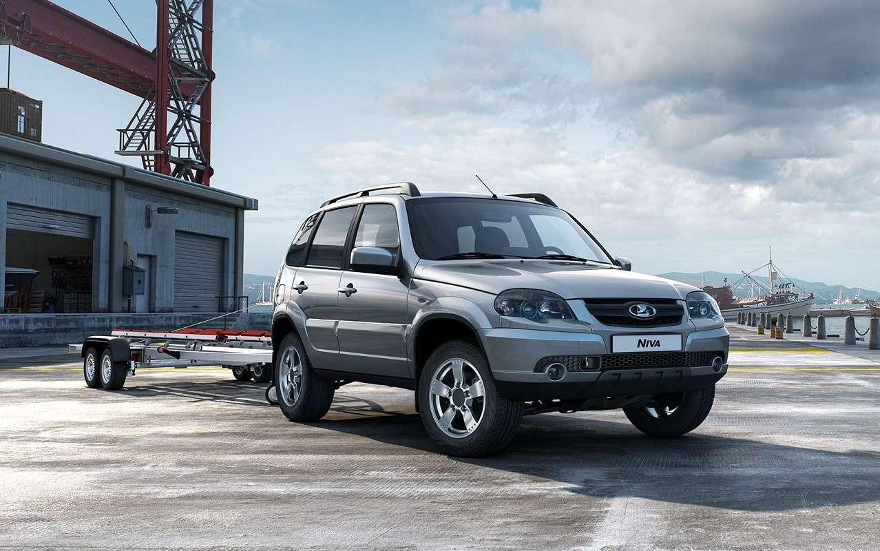 Lada Niva официально: как выглядит, какие приборы исколько стоит— фото 1144303