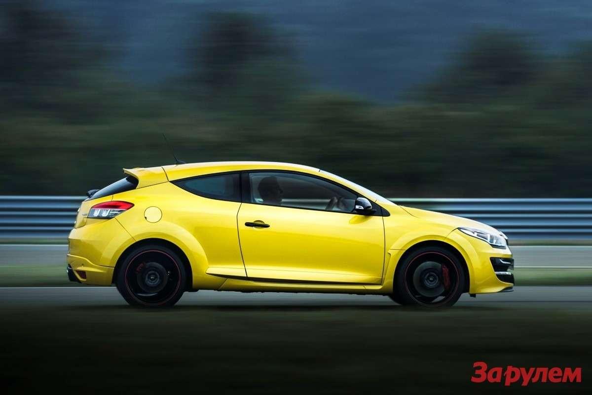Обновленный Renault Megane RS