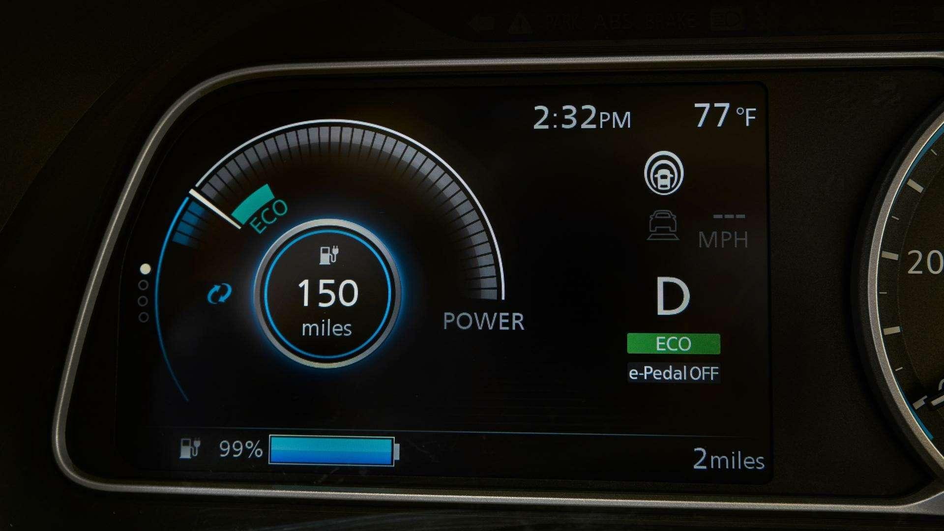 Nissan представил электромобиль дляРоссии— фото 791452