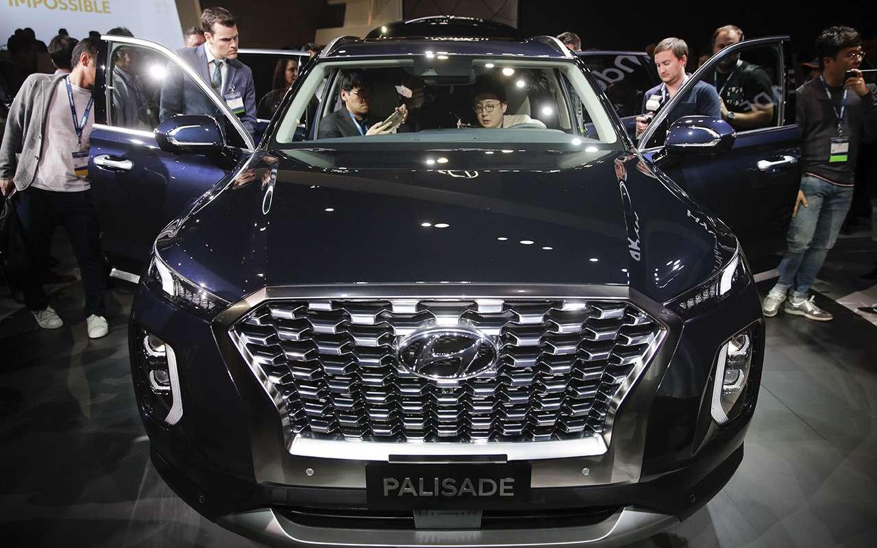 Кроссовер Hyundai Palisade вЛос-Анджелесе: больше некуда— фото 929614