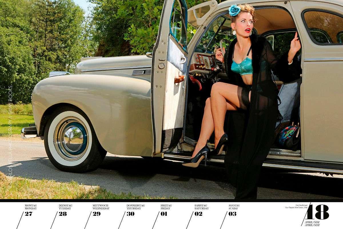 16красоток и29легендарных тачек Америки— ваш календарь-2020— фото 1003750