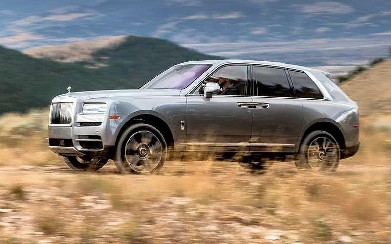 Тест Rolls-Royce Cullinan— вприподнятом настроении