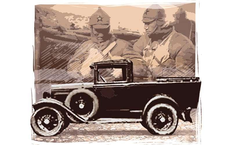 Первый советский пикап— скабиной отгрузовика!