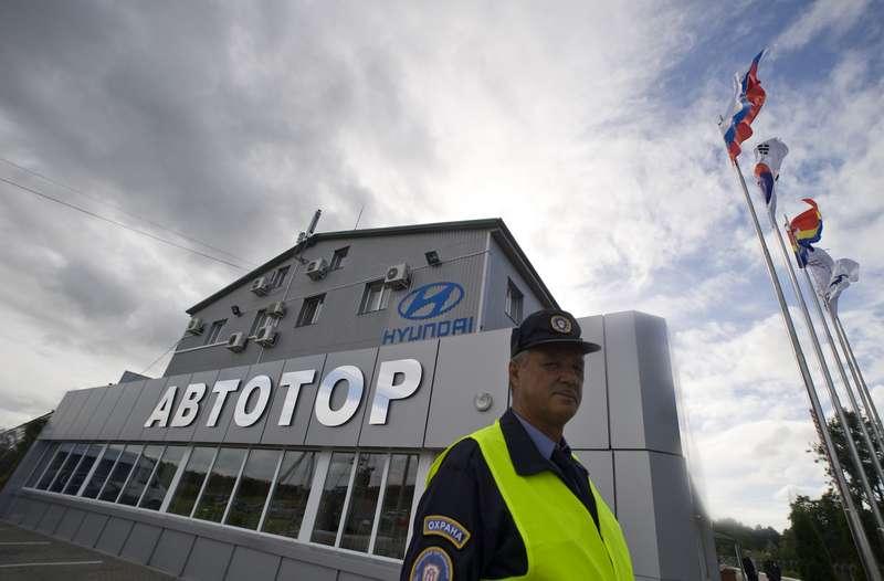 Запуск производства коммерческих грузовых автомобилей Hyundai вКалининградской области