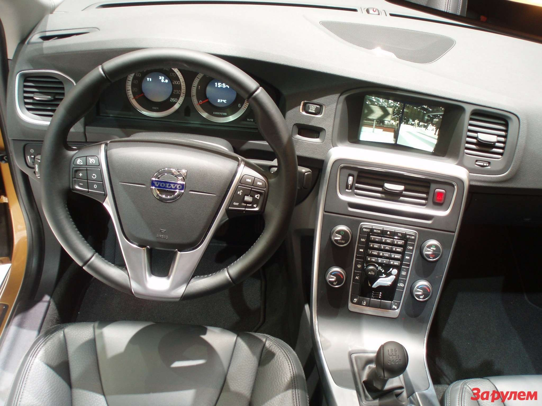 Интерьер Volvo S60