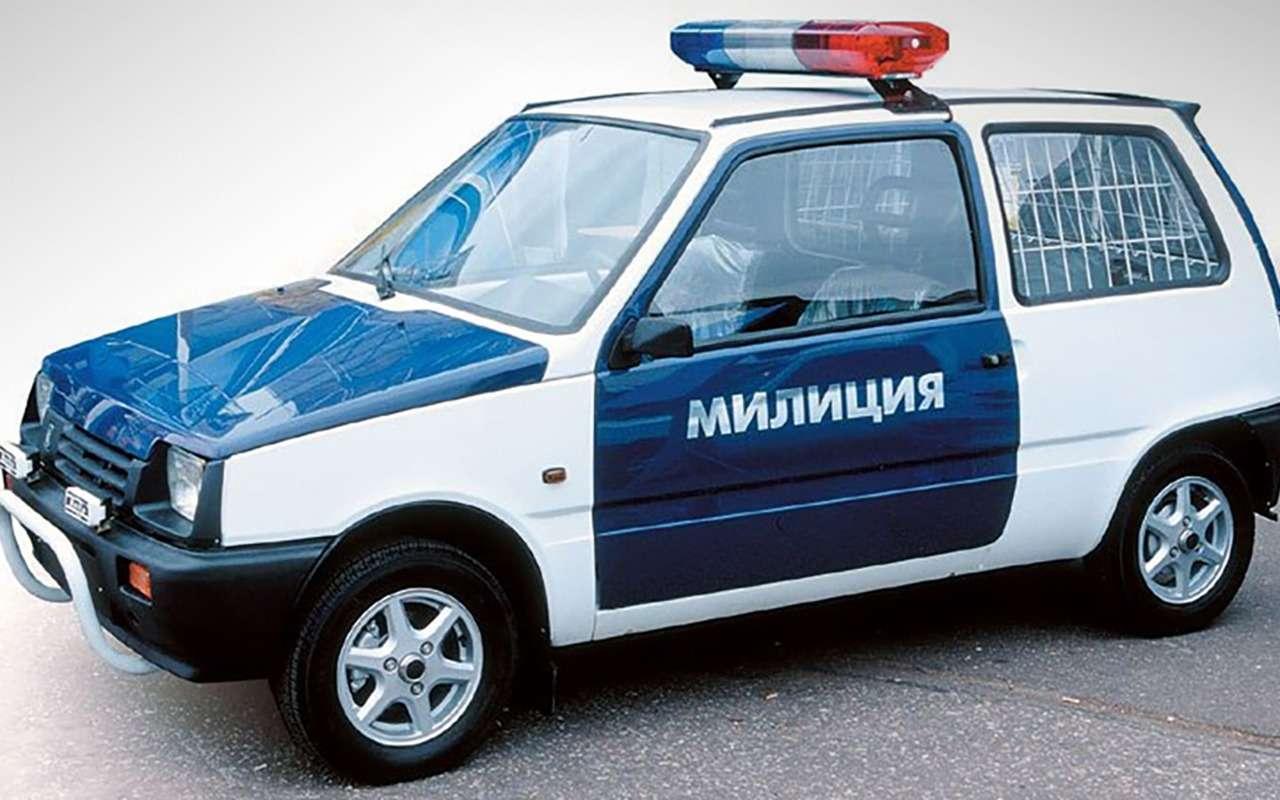 Странные патрульные машины: ужлучше вконную полицию!— фото 1122162