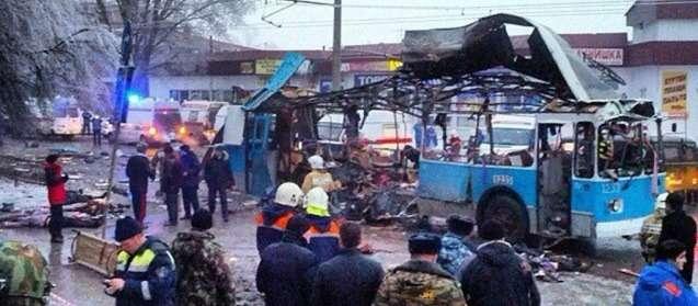В Волгограде взорван троллейбус: 10погибших