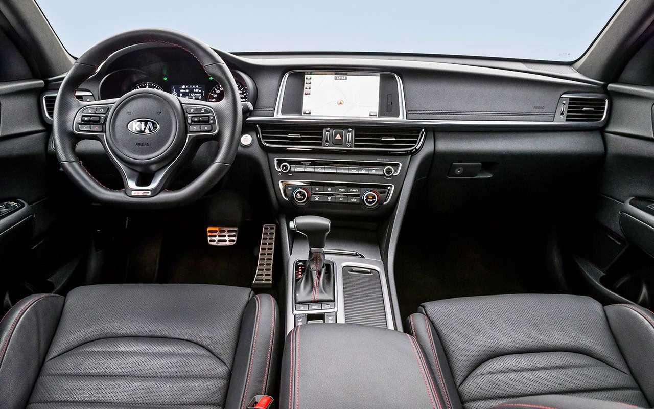Hyundai Sonata против конкурентов— большой тест ЗР— фото 834883