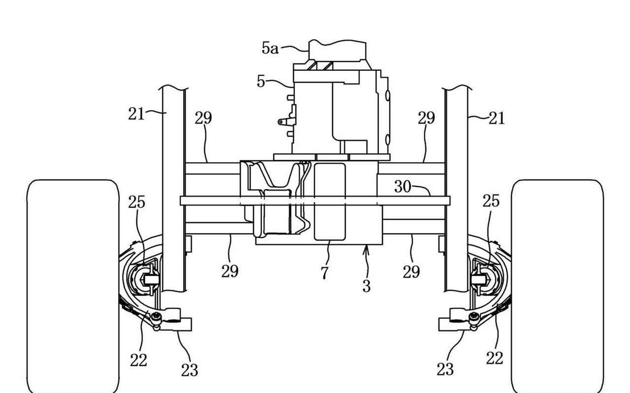 Mazda запатентовала новую силовую установку иполный привод— фото 1117995