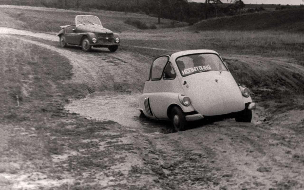 Народные автомобили СССР: вот кто был доЗапорожца!— фото 1253115