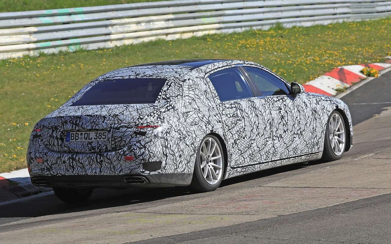 Новый Mercedes-Maybach S-Class тестируют наНюрбургринге— фото 1119231