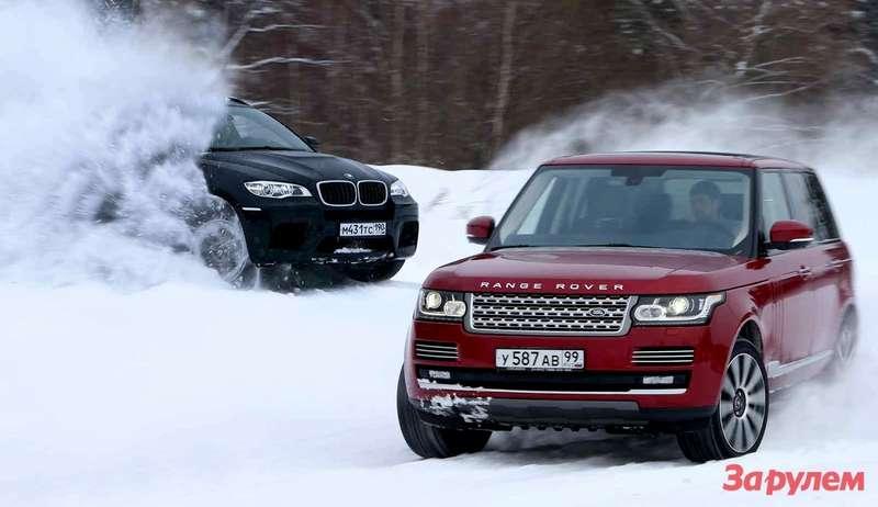 BMW-X6M, Range Rover