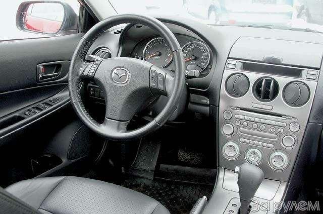 Mazda 6: ЖЕЛЕЗНАЯ ЛОГИКА— фото 66015