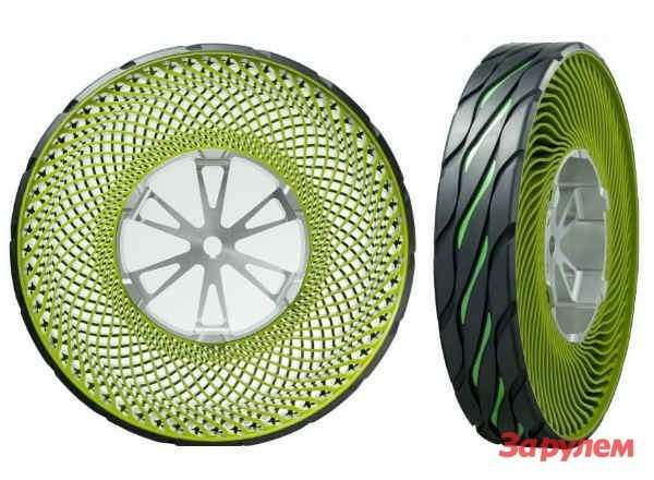 Bridgestone Airless Tire  No More Flat Tires!-01