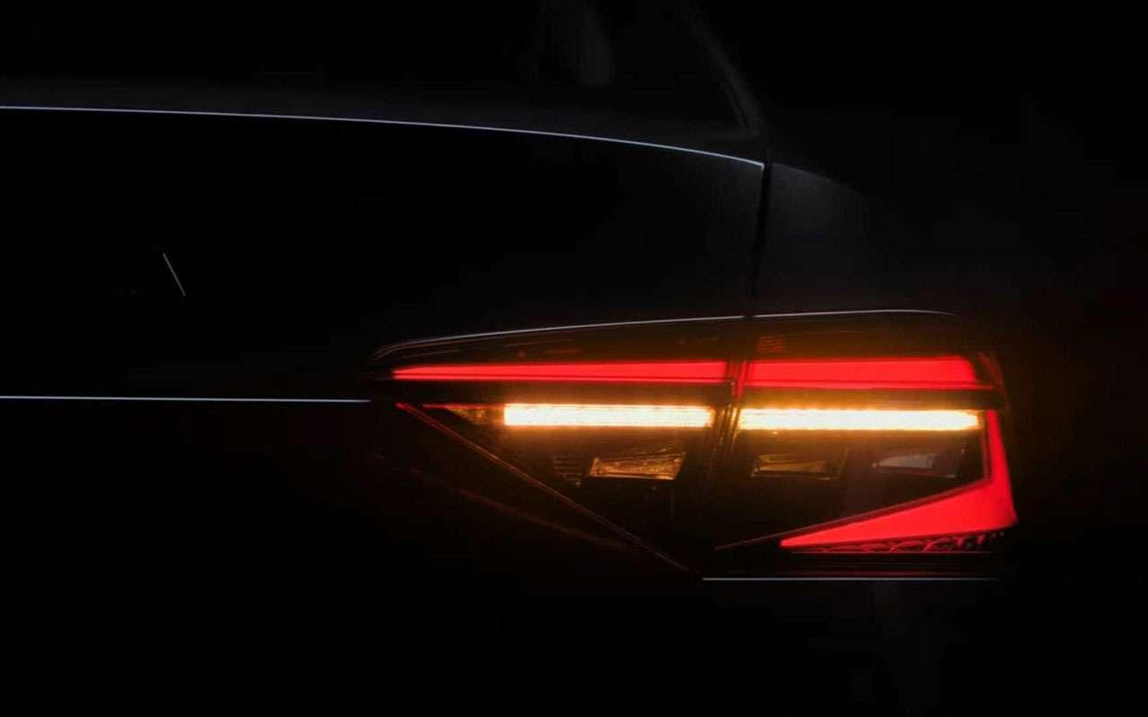 Первое видео обновленного Skoda Superb: светодиоды покругу— фото 974052