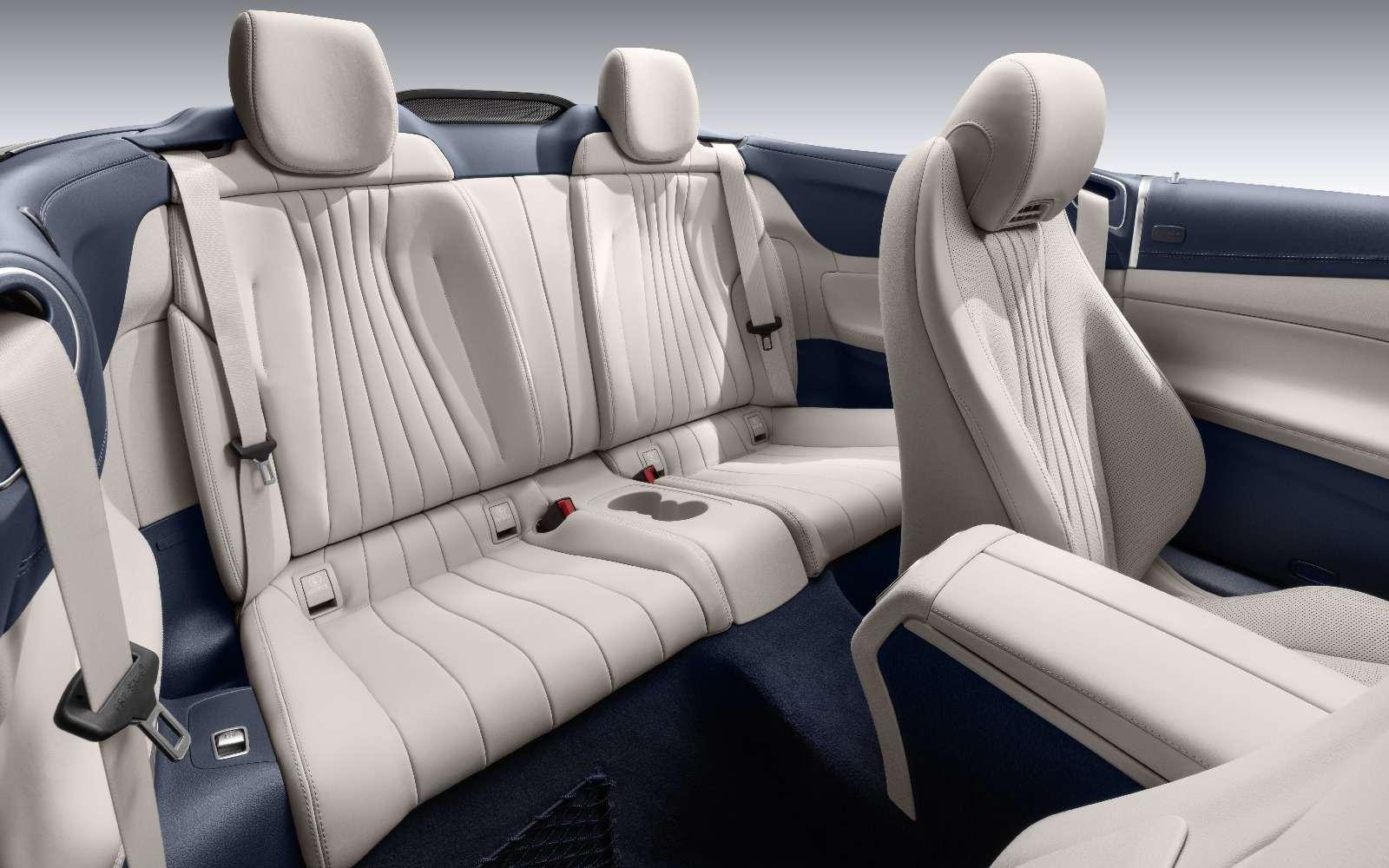 Новый кабриолет Mercedes-Benz E-класса оснастили полным приводом— фото 715155