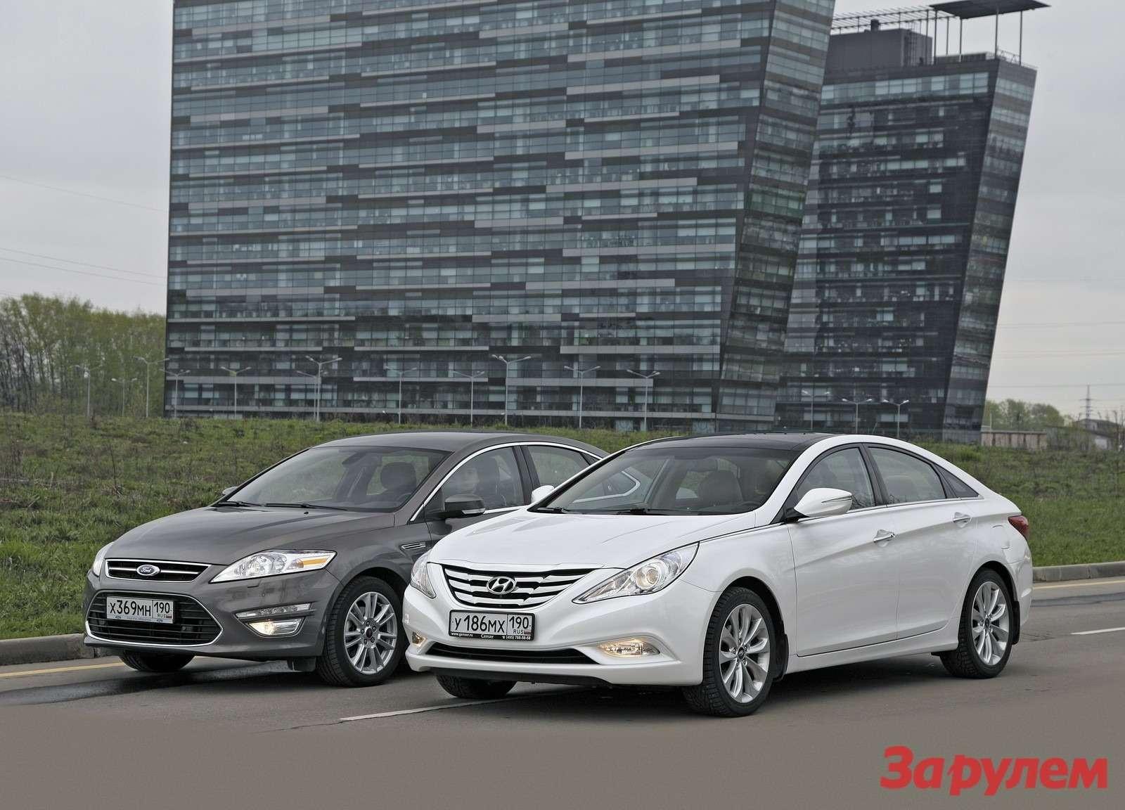 Ford Mondeo иHyundai Sonata