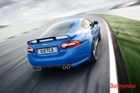 Jaguar XKR-S side-rear view