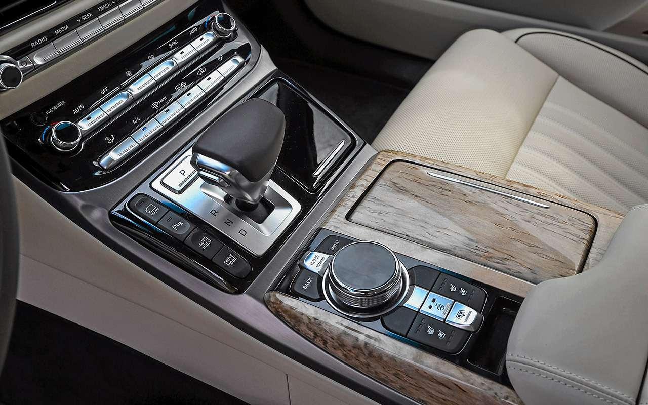 Большой тест престижных седанов: новый Lexus LS500и конкуренты— фото 928754