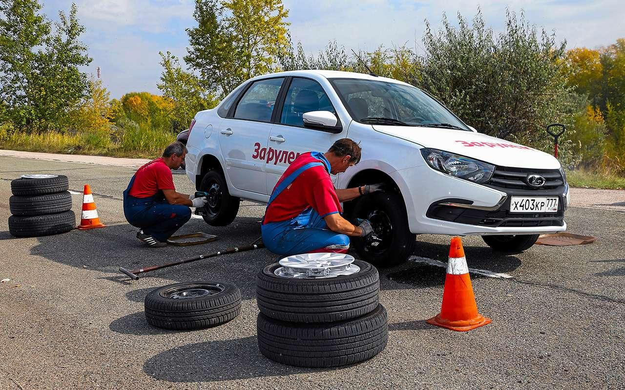 Большой тест 14-дюймовых шин. А«китайцы» не так ужплохи!— фото 960647