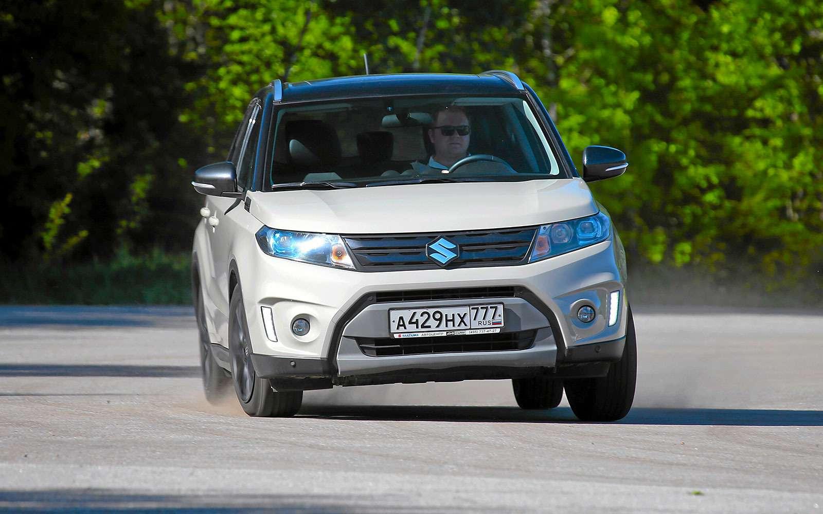 Renault Kaptur, Renault Duster, Suzuki Vitara: мода от-каптюр— фото 620631