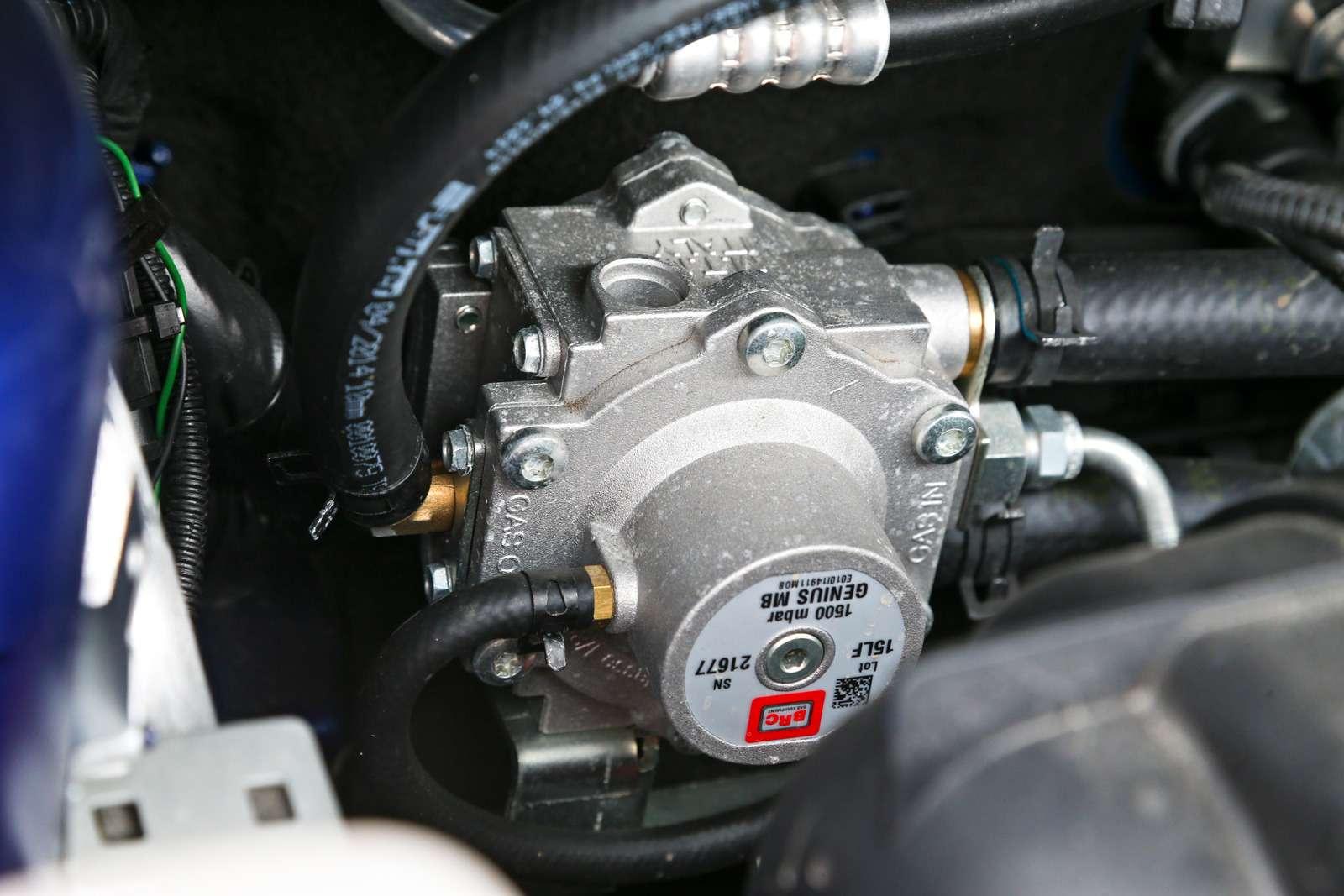 Тест Ford Focus LPG: экономим спропан-бутаном— фото 603379