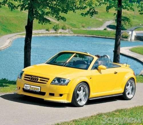 Тест Audi TT. ИГРУШКА  КРУПНОГО КАЛИБРА— фото 29803