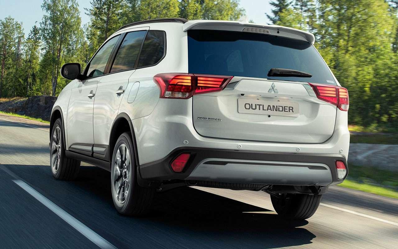 Обновленный Mitsubishi Outlander— начало продаж ицены— фото 1261396