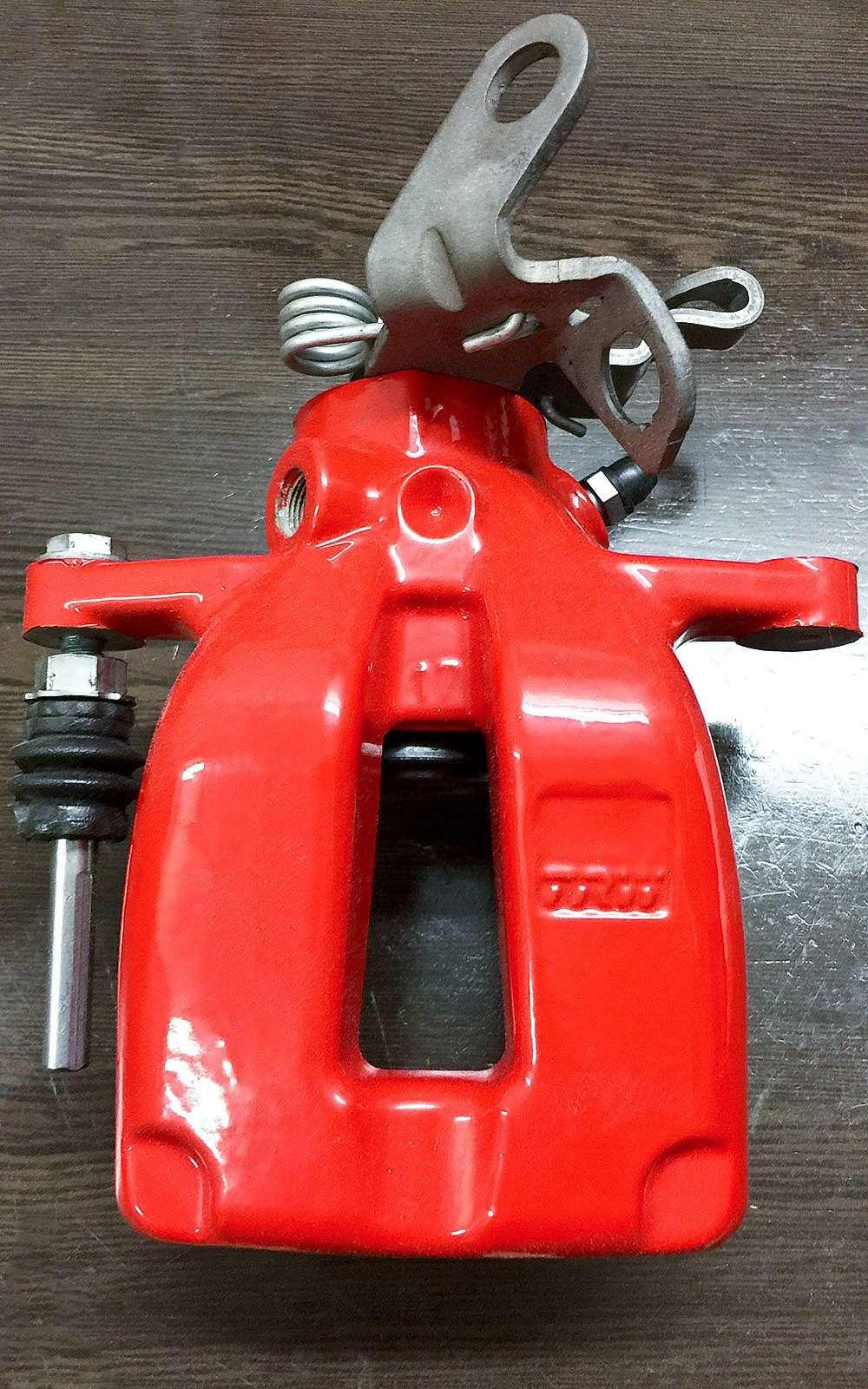 Тормозной суппорт совстроенным механизмом ручника