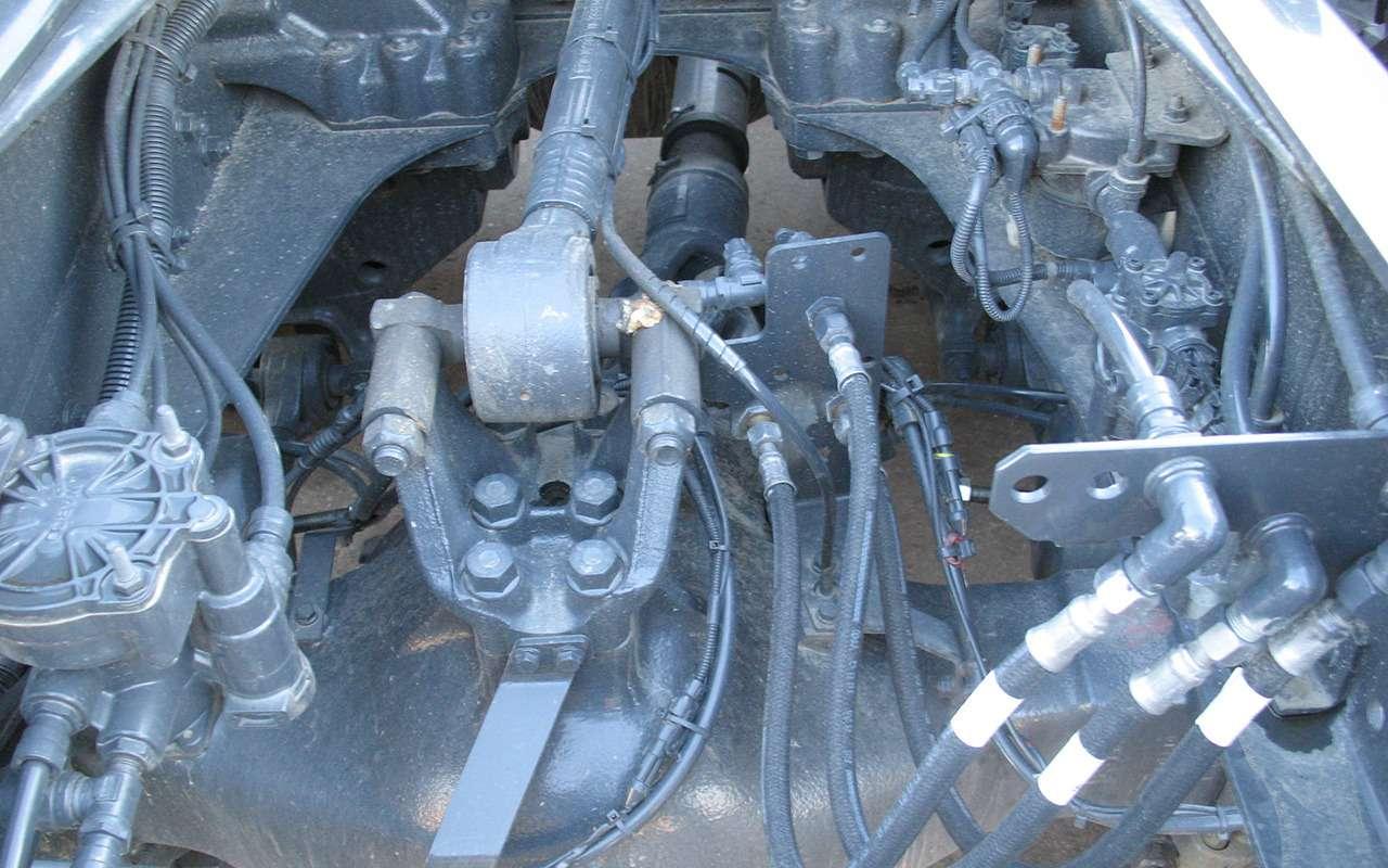 Тяжелые грузовики IVECO Trakker: все особенности— фото 1233444