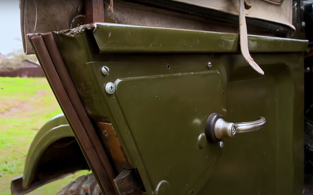 ГАЗ-69: кабриолет сдверьми нашпингалетах— фото 1245954