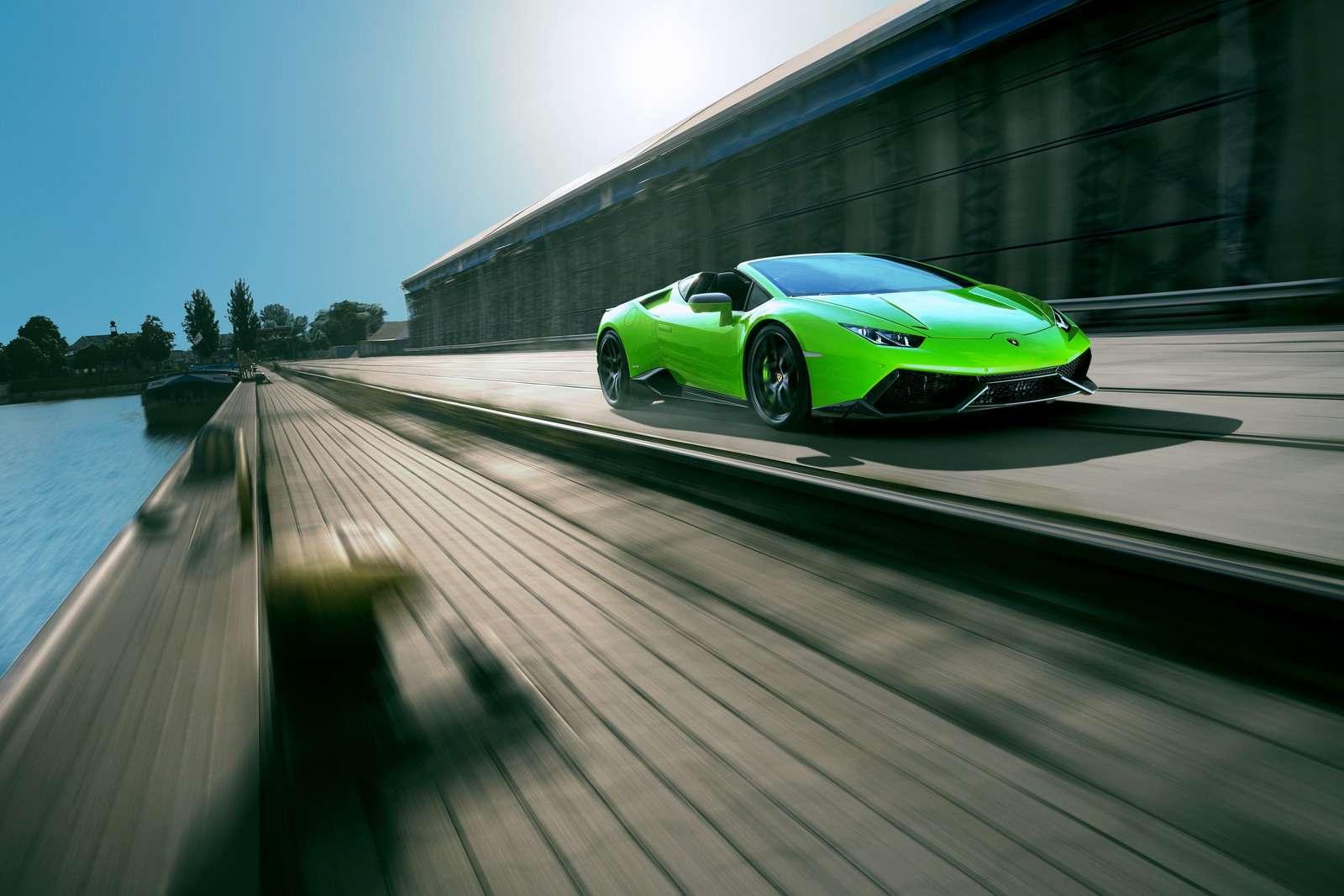 С двумя компрессорами: Lamborghini Huracan метит вгиперкары— фото 615766
