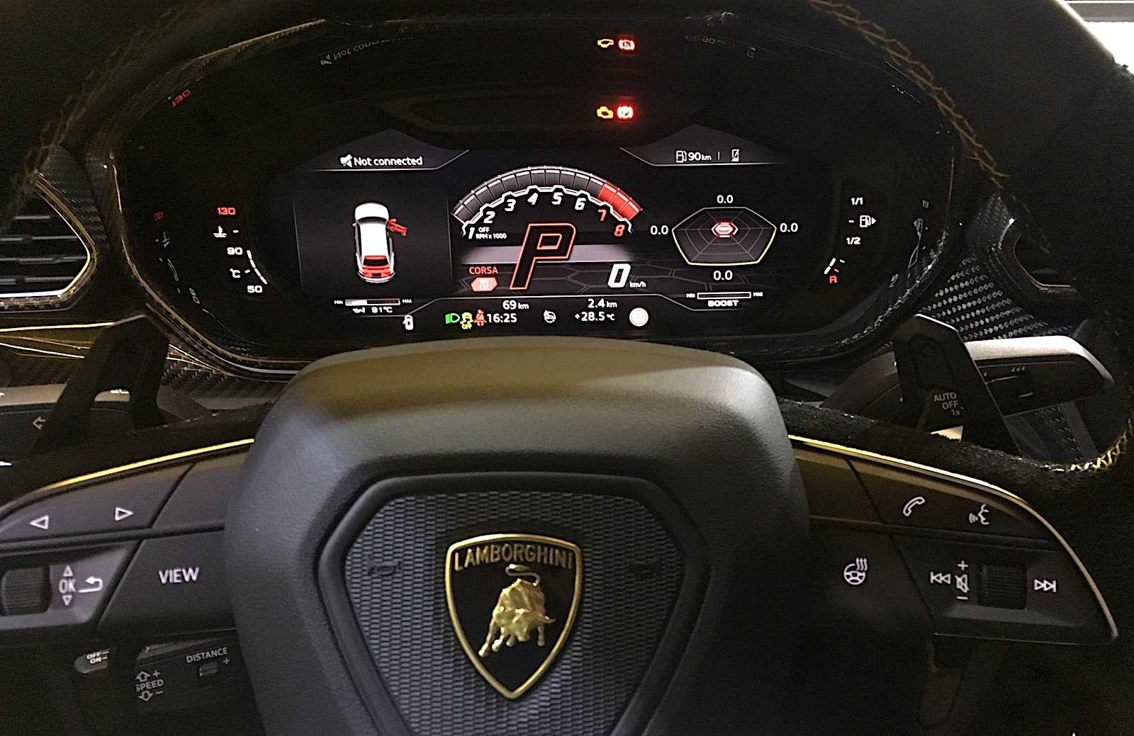 Lamborghini привезла вРоссию автомобиль, который не боится «лежачих полицейских»— фото 845494